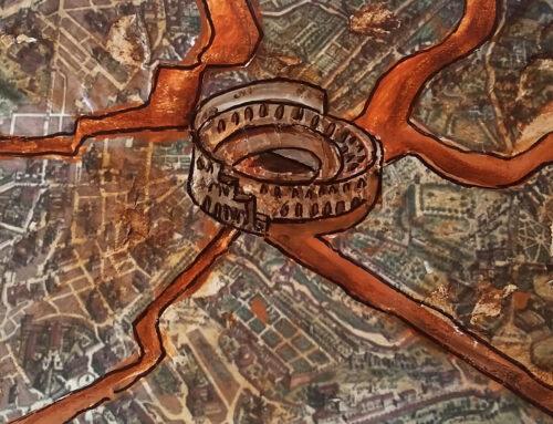 Kõik teed viivad Rooma (SPQR)